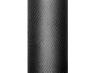 Tüll Stoff Luna schwarz 9m x 15cm