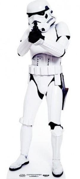 Star Wars Stormtrooper Pappaufsteller 1,83m