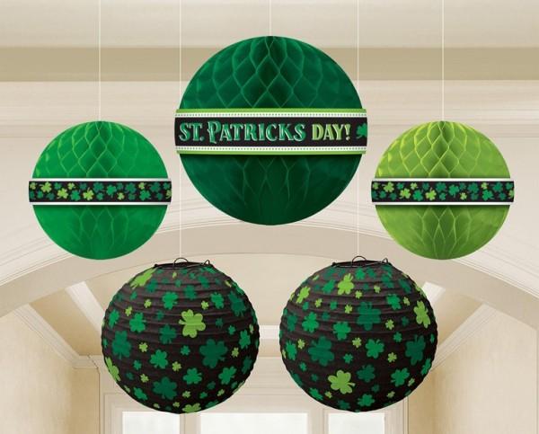 5 St.Patricks Day Wabenbälle