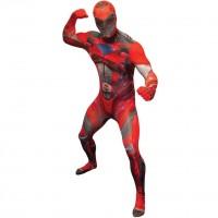 Power Rangers Morphsuit Deluxe rot
