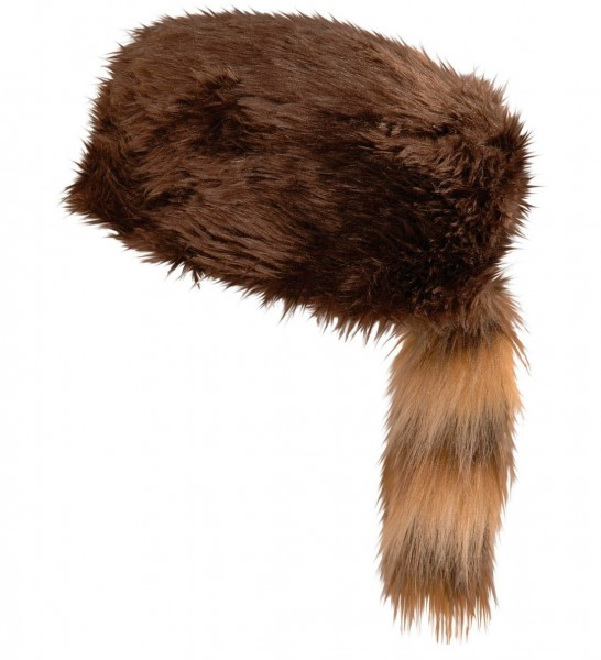Braune Pelzoptik Jägermütze