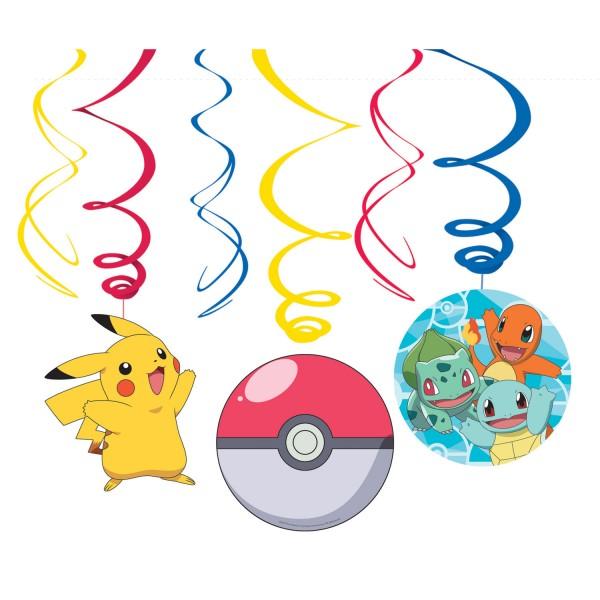 6 Pokémon Master spiral hangers