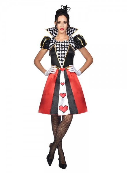 Queen of Hearts Costume Women's