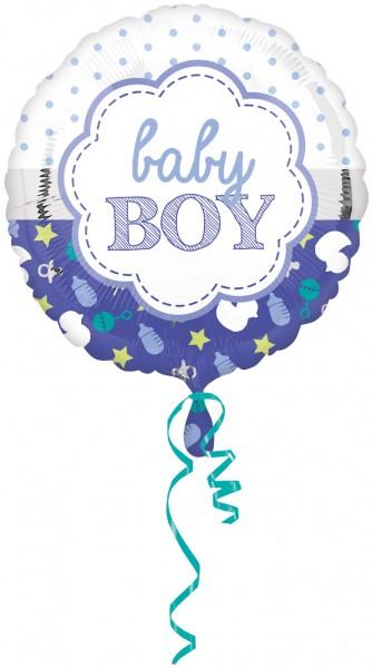 Ballon à pois bébé garçon