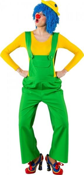 Grüne Damen Latzhose Maike
