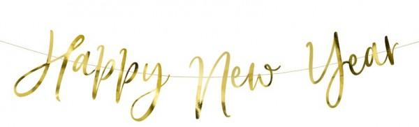 Guirnalda de Año Nuevo Real 66cm