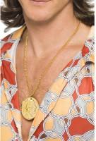 Goldmünze Medaillon Halskette