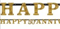 Sparkling 50 Years Buchstaben Girlande