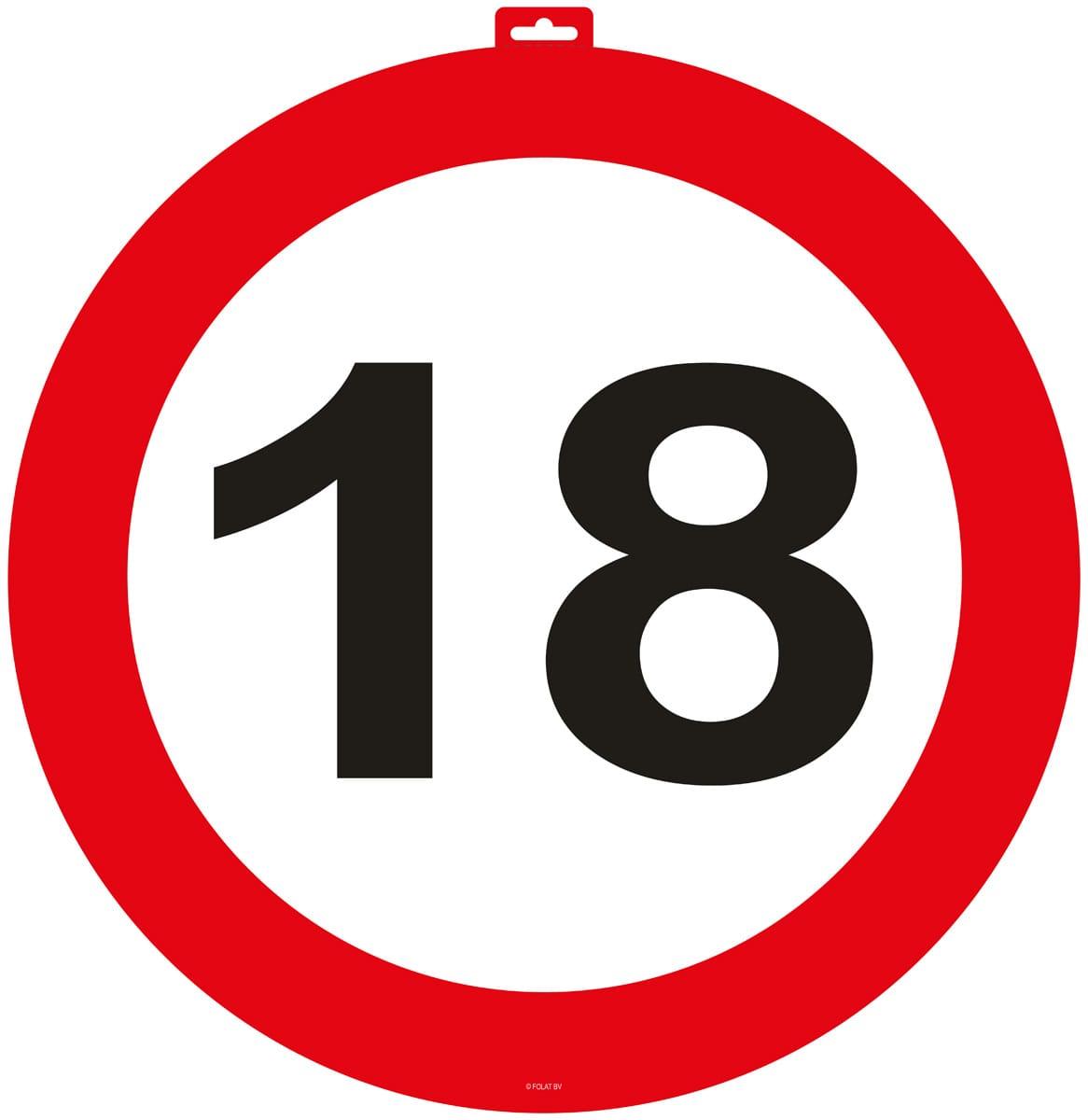 18 Schild