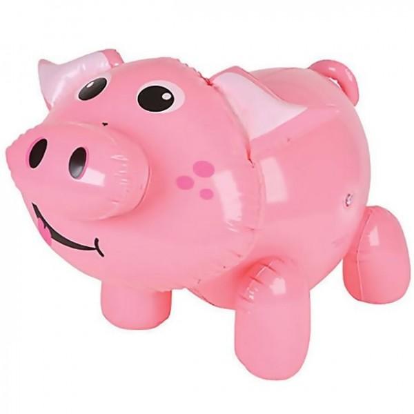 Aufblasbares Schwein 55cm