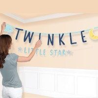 2 Twinkle Little Star Girlanden 1,8m