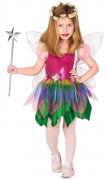 Kostium wróżki kwiatowej dla dzieci