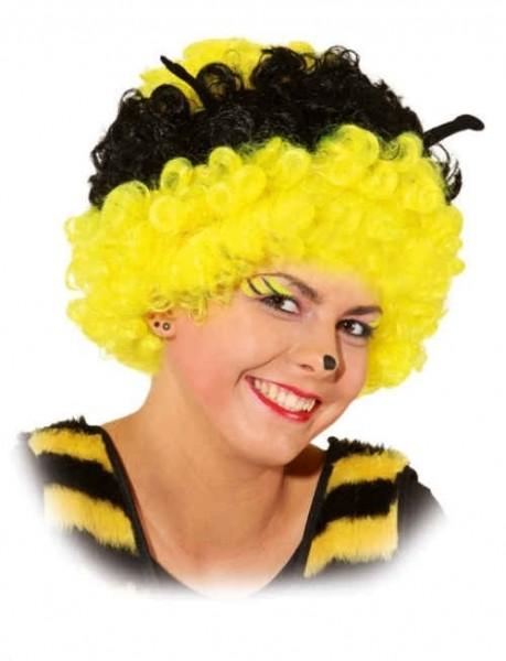 Bienen Afro Perücke