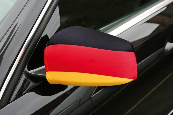 2 Deutschland Außenspiegel Deko