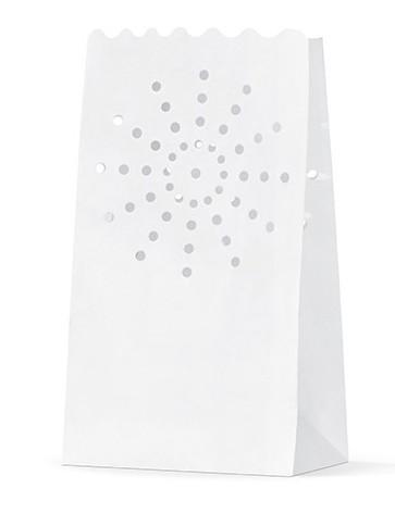 10 bolsas de luz con blanco sol