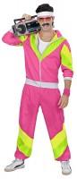 Pinker Funky Jogginganzug