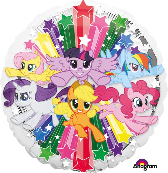 Folienballon My Little Pony Rainbow Magic