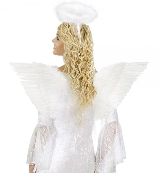 Zauberhafte Engelsflügel Weiß 71 x 45cm