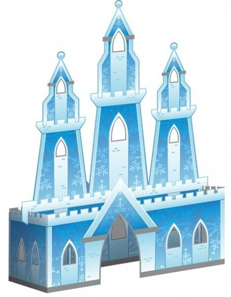 3D Ice Palace table display
