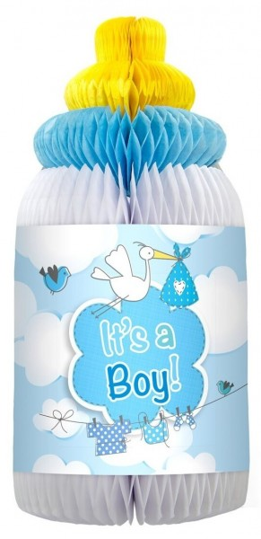 Decorative baby bottle It`sa Boy!