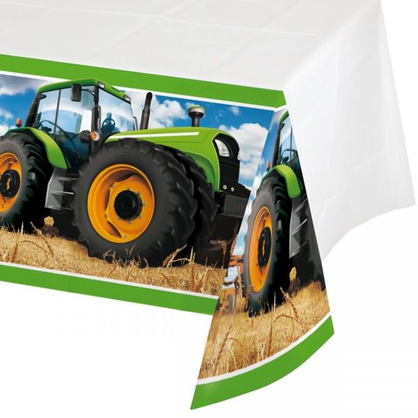 Traktor Party Tischdecke 2,59 x 1,37m