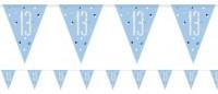 Blaue 13. Geburtstag Girlande 2,7m