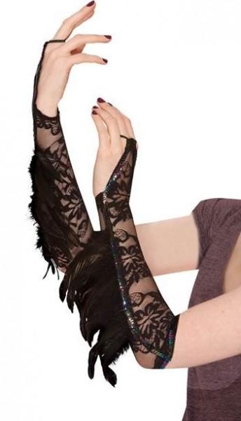 Scaldamuscoli corvi lady piuma