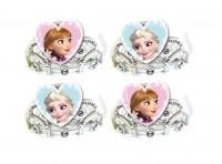 4 Frozen Eiszauber Kronen