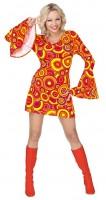 Disco Fever Damenkostüm Casey orange