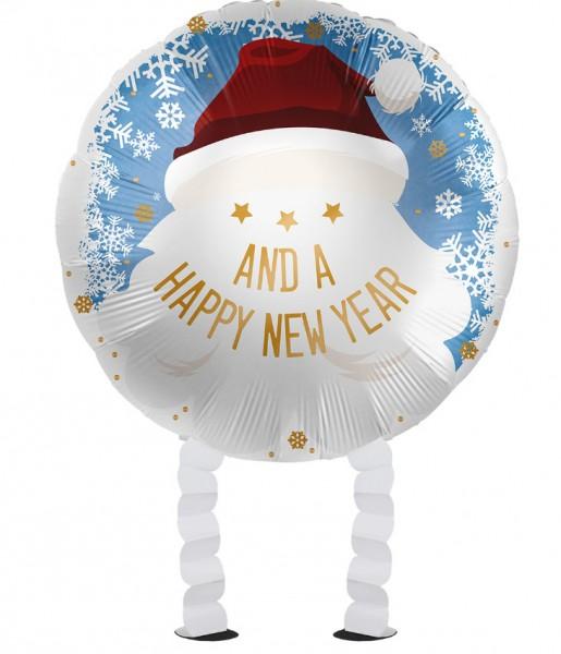 Ballon en aluminium Santa Airwalker 43cm