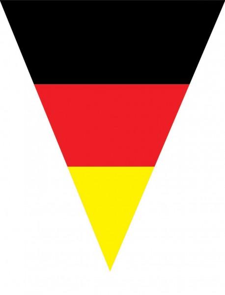 Deutschland-Flaggen Wimpelkette 5m