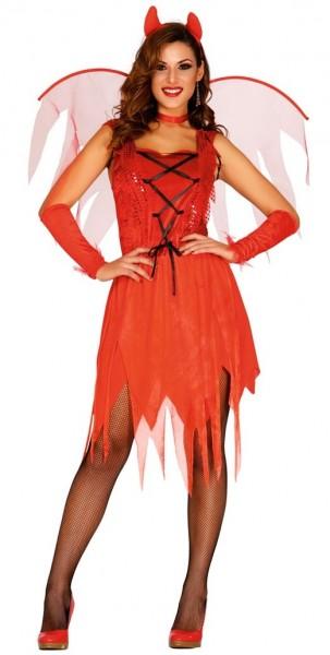 Devil Lady Cassandra Damenkostüm 1