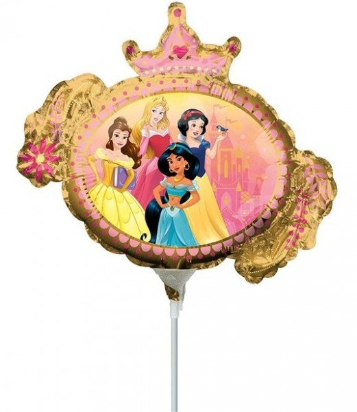Disney Princess Kronen Stabbballon 23cm