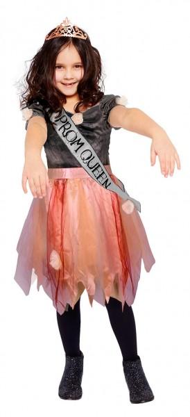 Costume Prom Queen rosa bambina