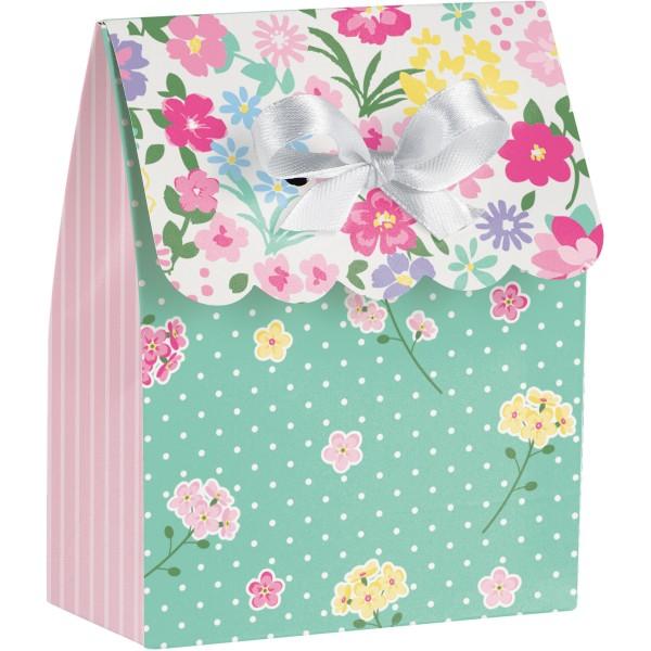 12 Florale Teeparty Geschenktüten