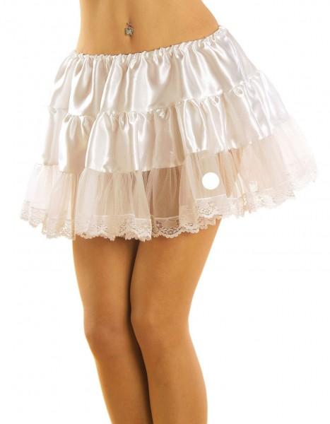 Weißer Preston Petticoat