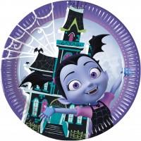 8 Vampirina Partynacht Pappteller 23cm