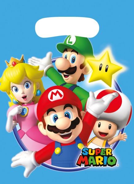 Sacchetto regalo famiglia Super Mario
