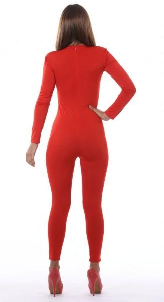 Cuerpo completo para mujer rojo