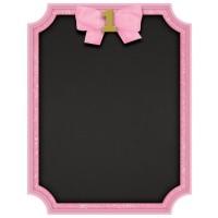 Pinkstar 1st Birthday Kreidetafel 18 x 23cm