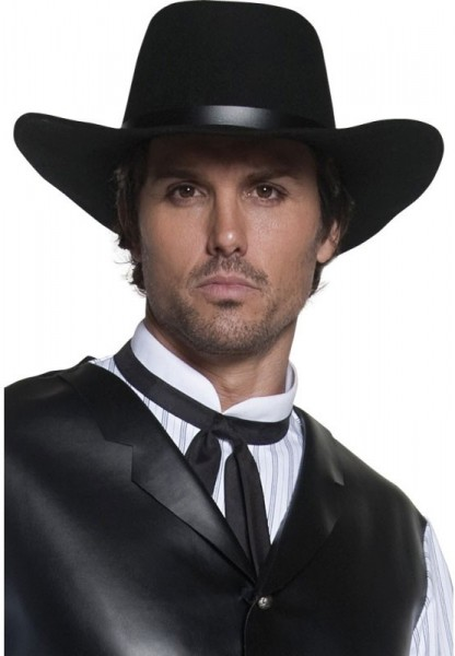 Cappello stile Old Wild West nero