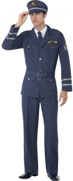 Air Force Kriegspilot World War 2 Herrenkostüm