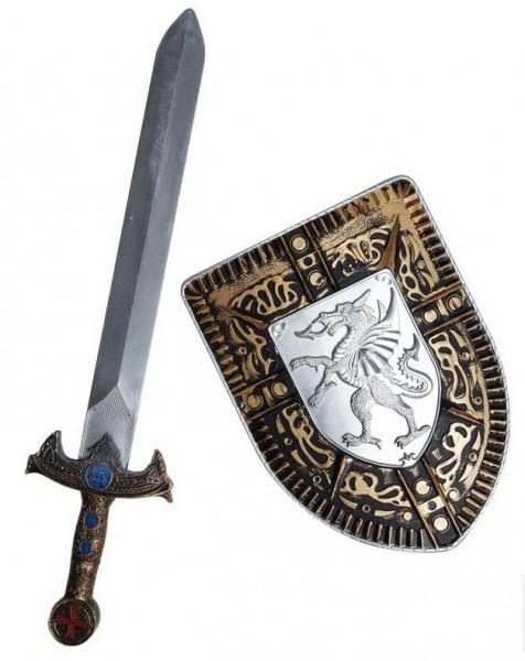 Ritter Erenor Schwert Und Schild