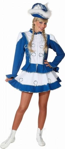 Blaues Tanzmariechen Kleid Blau