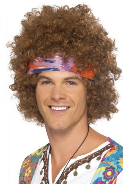 Lockige Afroperücke Mit Stirnband