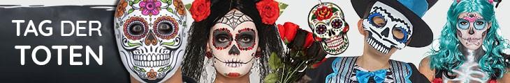 Tag der Toten Kostüme & Zubehör