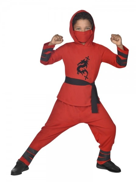 Ninja Children's Costume Red