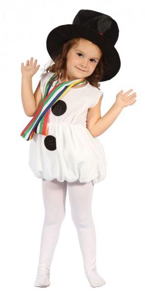 Snowman Scarlett child costume