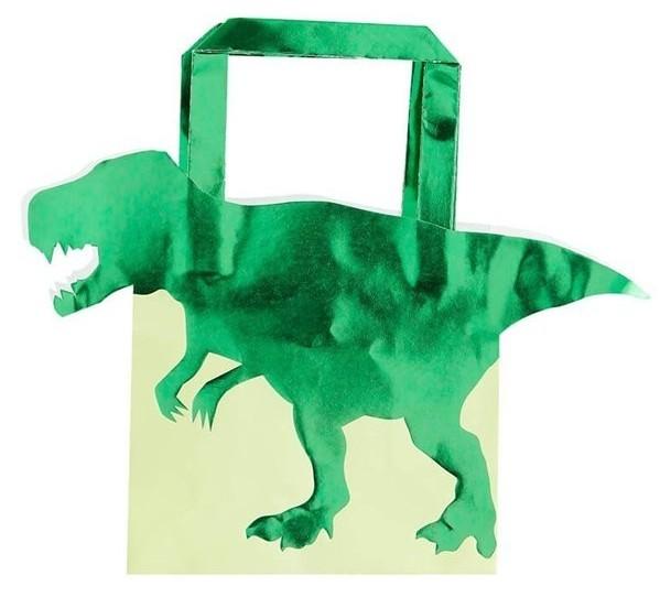 5 sachets cadeaux Roarsome Dino