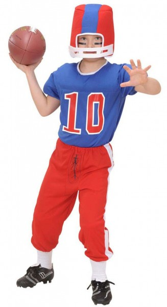 American Football Spieler Jayden Kinderkostüm